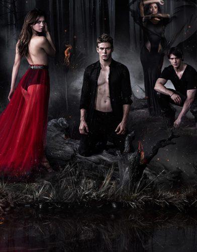 The Vampire Diaries tv series poster