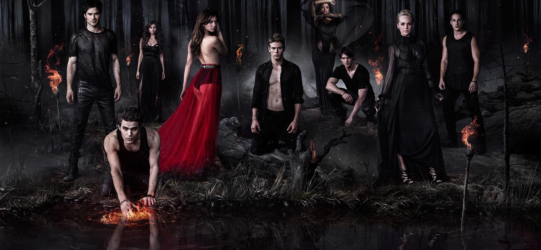 The Vampire Diaries  Season 1 tv series Poster