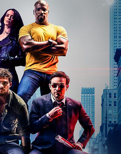 The defenders tv series poster
