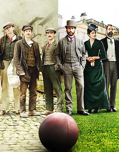 The English Game Season 1 poster
