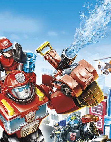 Transformers Rescue tv series poster