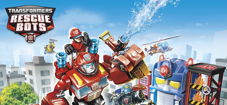 Transformers: Rescue Bots Season 1 tv series Poster