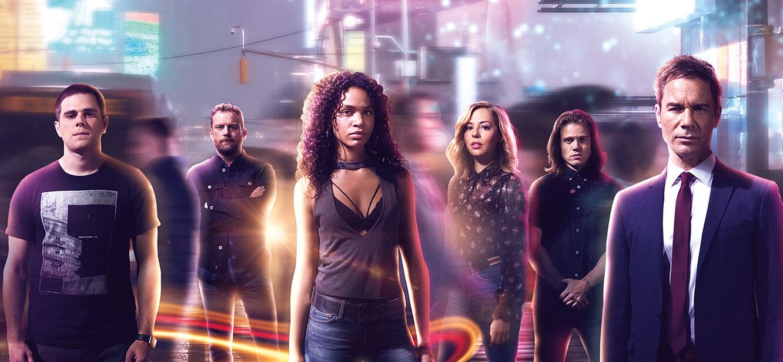 Travelers Season 1 tv series Poster