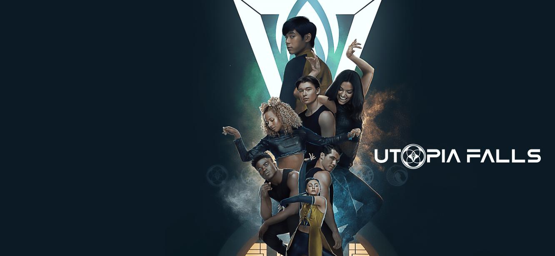 Utopia Falls Season 1 tv series Poster