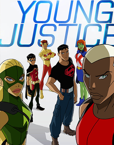 Young Justicel season 2 poster