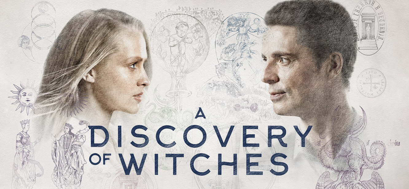 A Discovery of Witches Season 1 tv series Poster