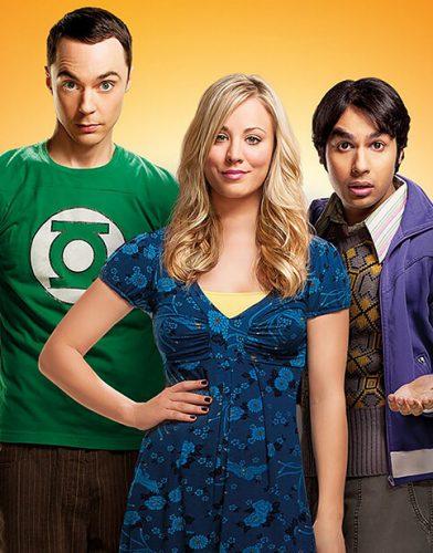 The Big Bang Theory tv series poster