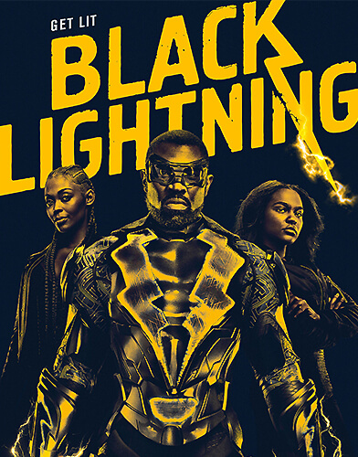 Black lightning season 1 poster