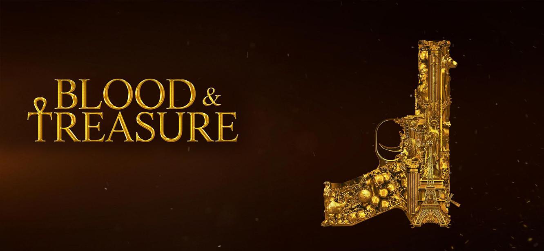 Blood & Treasure Season 1 tv series Poster