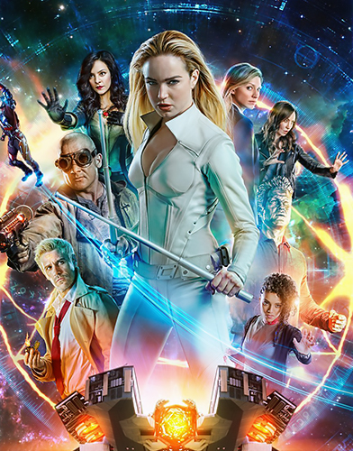 Legends of Tomorrow Season 5 poster