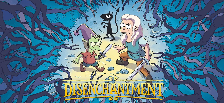 Disenchantment Season 1 tv series Poster