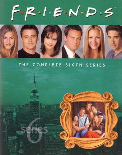 friends season 6 poster