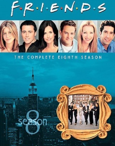 friends season 8 poster