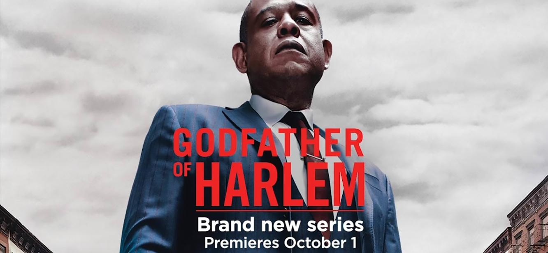 Godfather of Harlem Season 1 tv series Poster