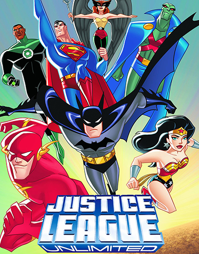 Justice League Unlimited Season 1 poster