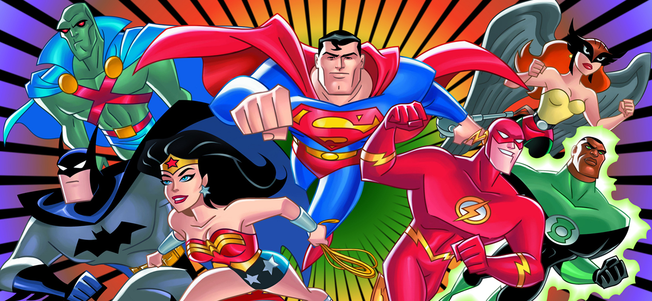 Justice League Unlimited Season 1 tv series Poster