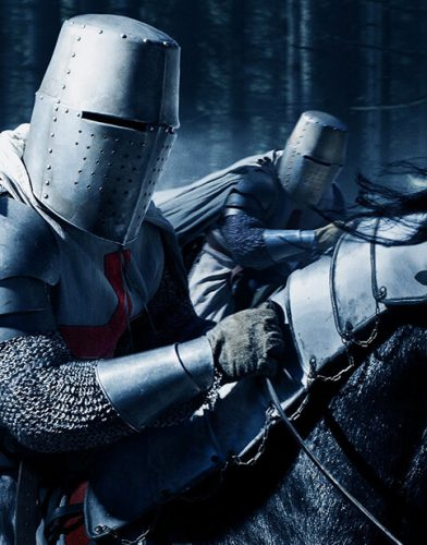 Knightfall tv series poster