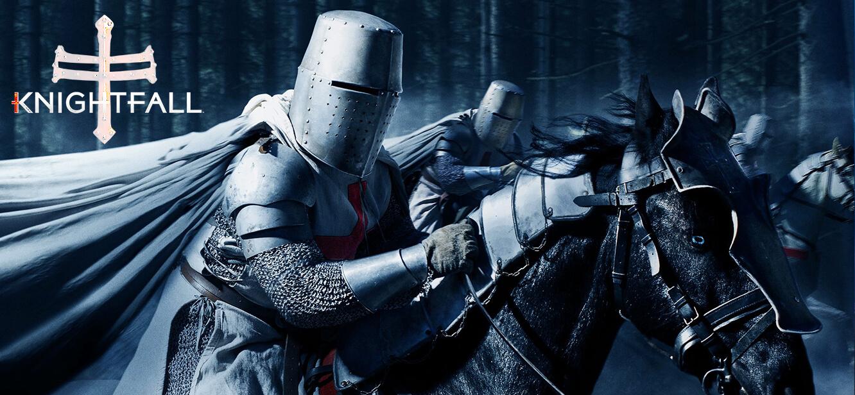 Knightfall season 1 tv series Poster