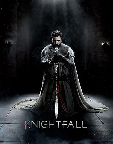Knightfall season 1 poster