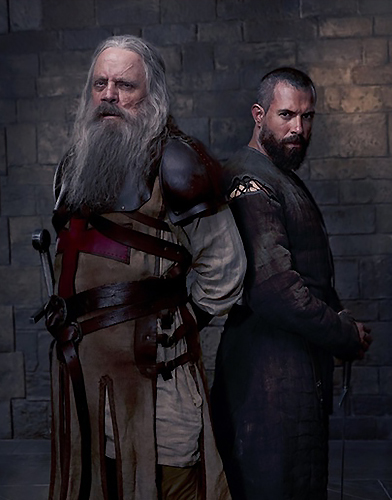 Knightfall season 2 poster