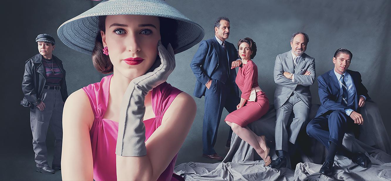 The Marvelous Mrs. Maisel Season 1 tv series Poster