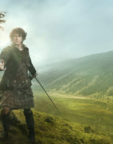 Outlander tv series poster