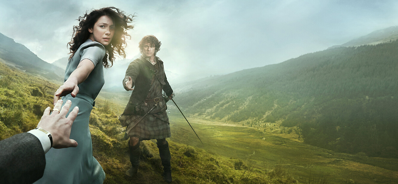 Outlander season 1 tv series Poster