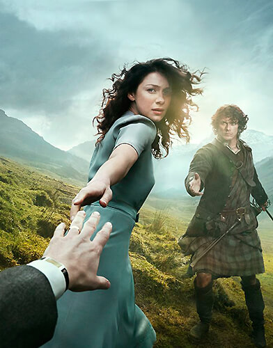 Outlander season 1 poster