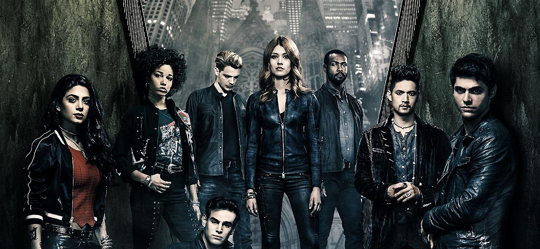 Shadowhunters: The Mortal Instruments Season 1 tv series Poster