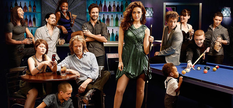 Shameless season 1 tv series Poster