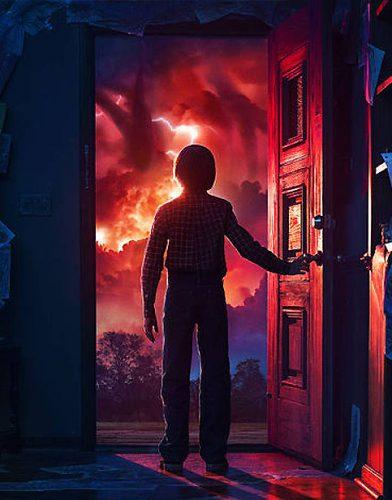 Stranger Things tv series poster