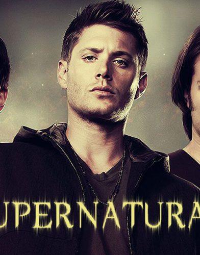 Supernatural tv series poster