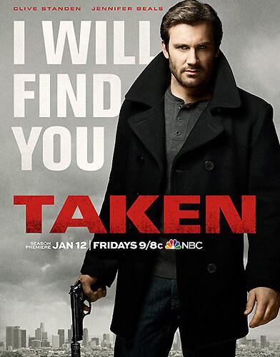 Taken Season 2 poster