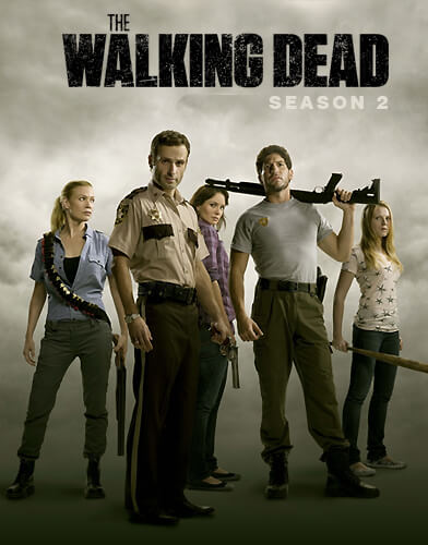 The Walking Dead Season 2 Poster