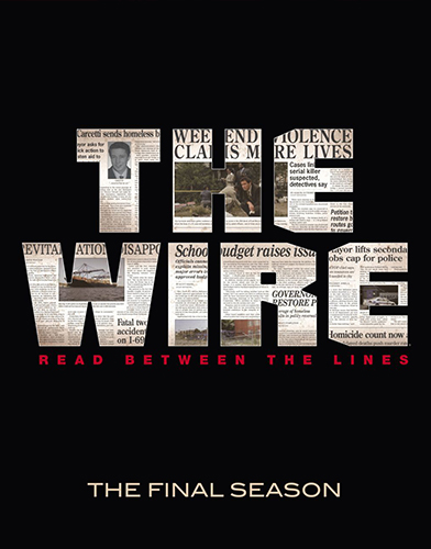 the wire season 5 poster
